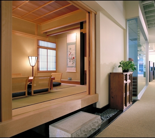 Japanese style conference room