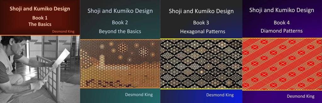 Books on kumiko by Des King